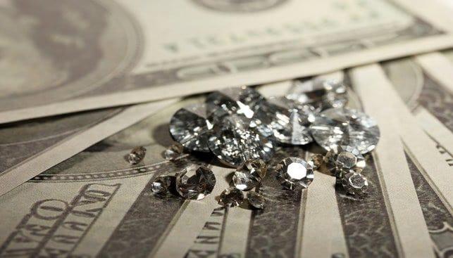 דולר כסף יהלומים