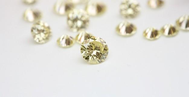 יהלומים מלוטשים עגולים