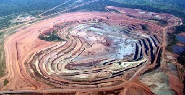 מכרה קטוקה של אלרוסה באנגולה