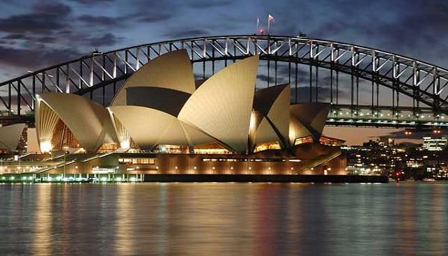 בית האופרה בסידני אוסטרליה
