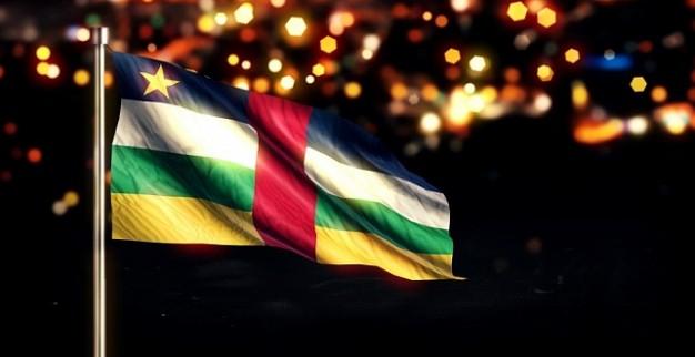 דגל הרפובליקה של מרכז אפריקה