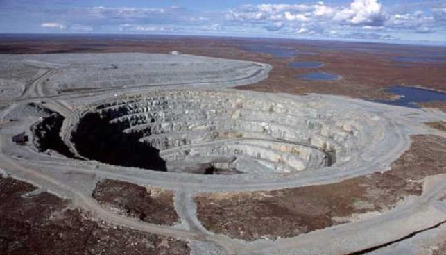 מכרה יהלומים אקטי קנדה