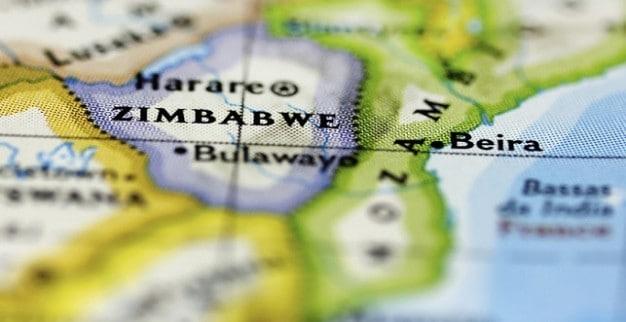 זימבבואה מפה