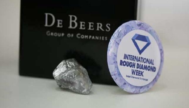 דה בירס יהלום לוגו