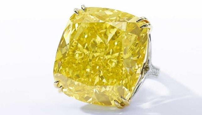 יהלום צהוב גראף