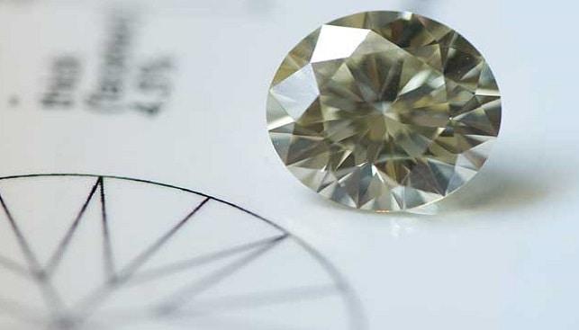 תעודה גמולוגית יהלום עגול