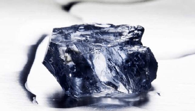 יהלום גלם כחול מכרב קולינן פטרה