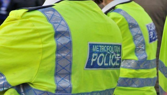 שוטרים במשטרת לונדון