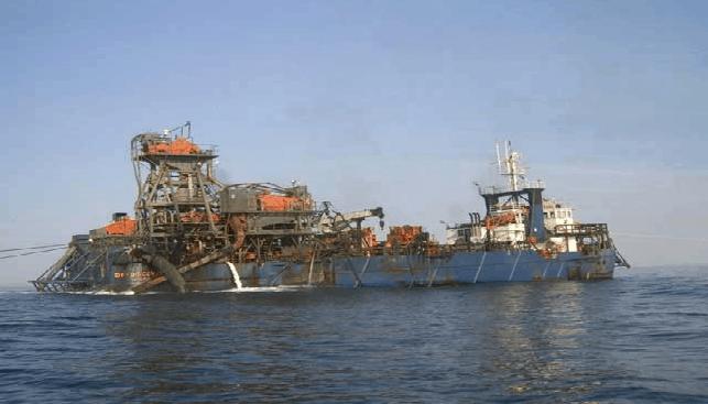כריית יהלומים ימית