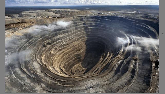מכרה יהלומים רוסיה אלרוסה