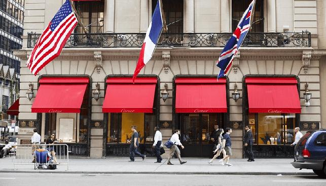 חנות קרטייה בשדרה החמישית בניו יורק סיטי
