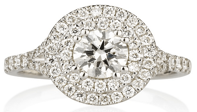 טבעת יהלומים של רוגל יהלומים