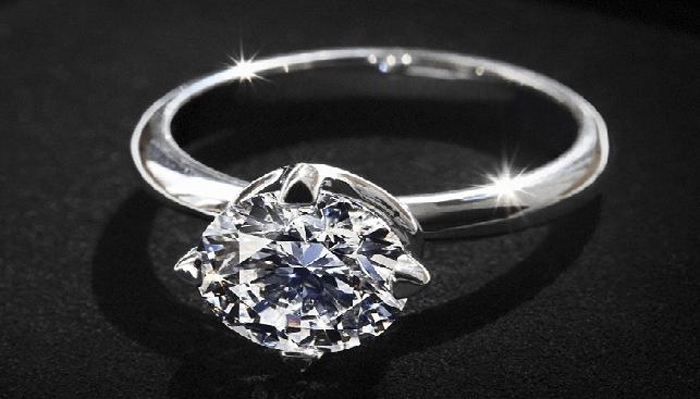 טבעת סוליטר של דה בירס