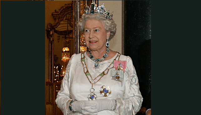 המלכה אליזבט השנייה