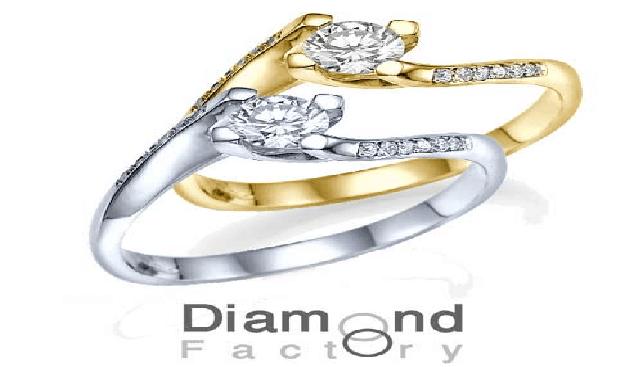 טבעת אירוסין בשיבוץ יהלום סוליטר