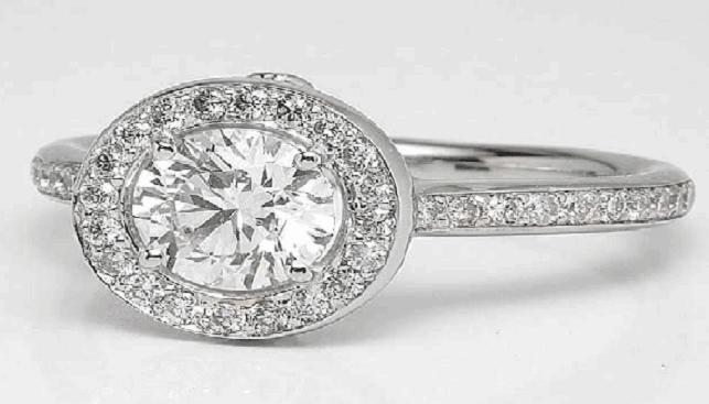 טבעת יהלום של אזואלס