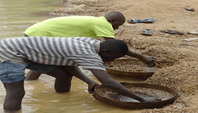 כריה אלובלית באפריקה חשופה למלחמות אזרחים