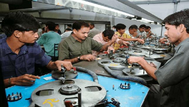 מפעל ליטוש בהודו
