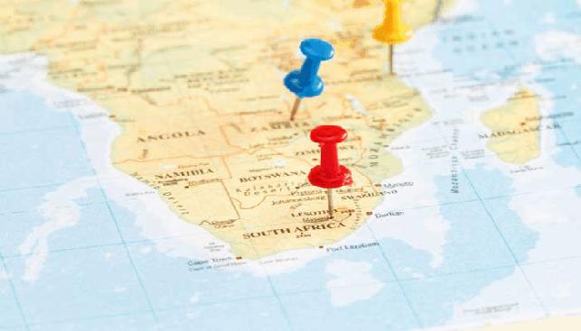 מפת אפריקה