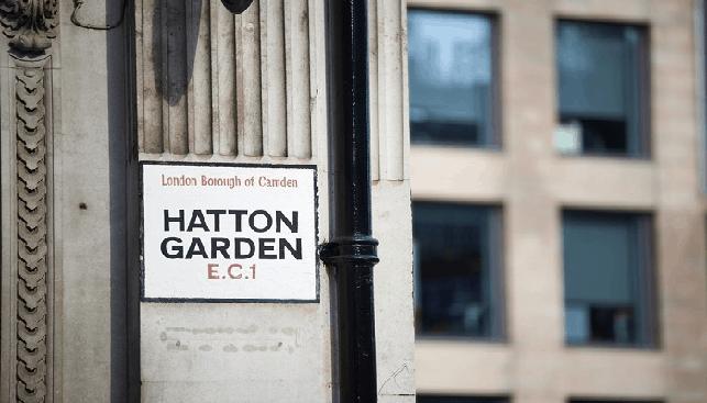 האטון גארדן, אזור היהלומים בלונדון