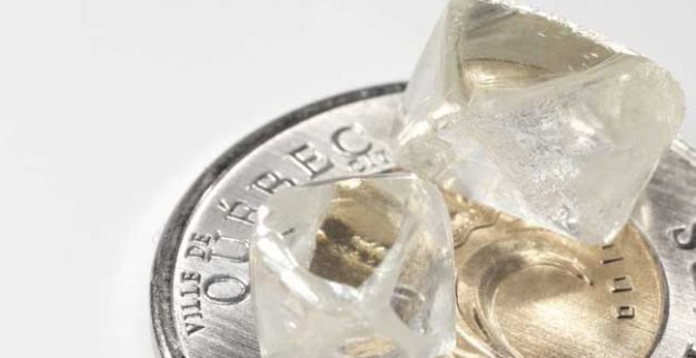 יהלומים במשקל 4 ו-6 קרט מארובת הקימברליט רנרד 3