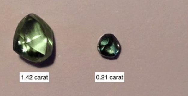 יהלומים ירוקים