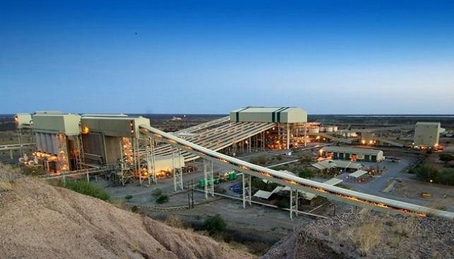 מפעל ההפרדה של מכרה אורפה של דה בירס