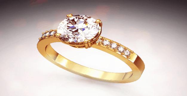 טבעת יהלום אירוסין