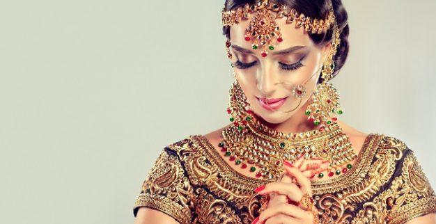 כלה תכשיטי זהב הודו