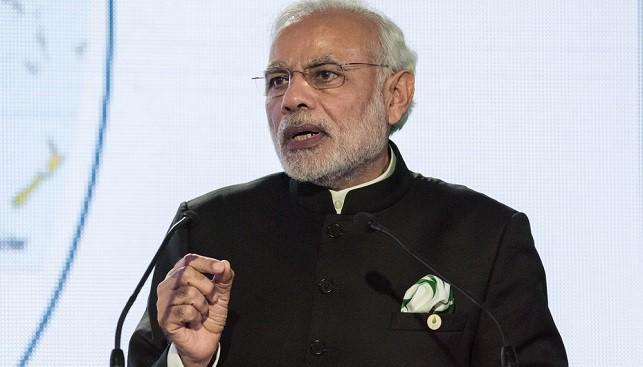 ראש ממשלת הודו נרנדרה מודי