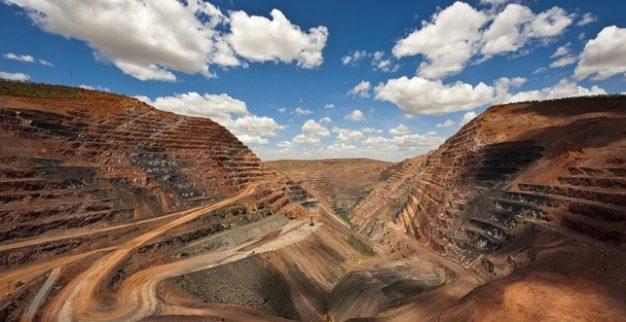 הבור הפתוח AK1 במכרה ארגייל, אוסטרליה