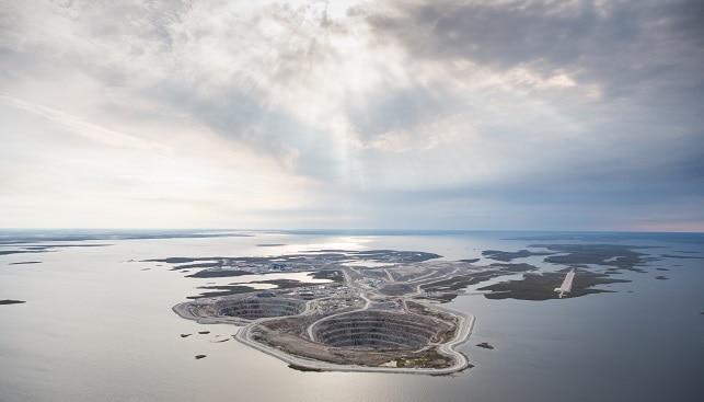 מכרה יהלומים דיאביק, קנדה ריו טינטו