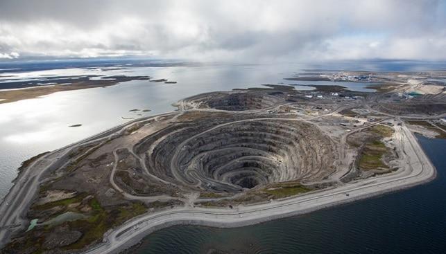 מכרה יהלומים דיאביק, ריו טינטו