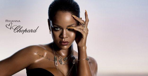 ריהאנה עם יהלומים בפרסומת שופארד