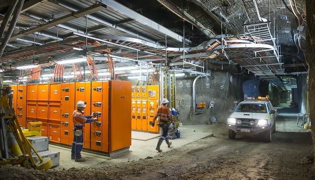 תחנת הכוח התת-קרקעית במכרה ארגייל של ריו טינטו