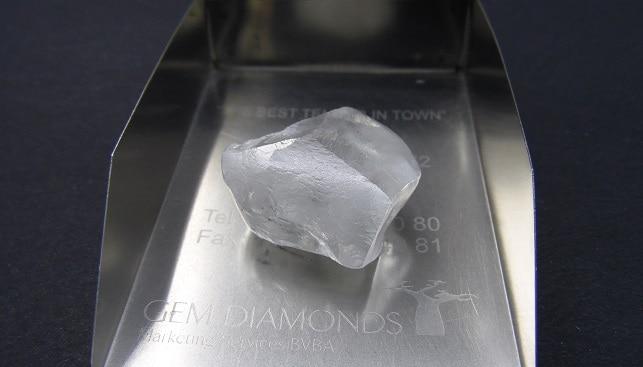 יהלום במשקל 80 קרט, שהפיקה ג'ם
