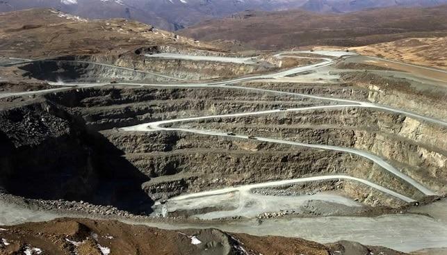 מכרה לטסנג מכרה כרייה בבור פתוח של חברת ג'ם יהלומים