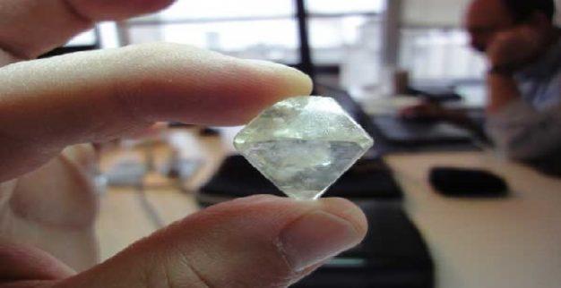 יהלום גלם לוקרה Lucara Rough Diamond