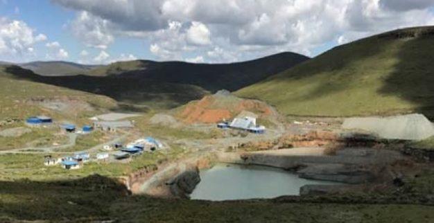 מכרה הקימברליט Mothae לוקפה