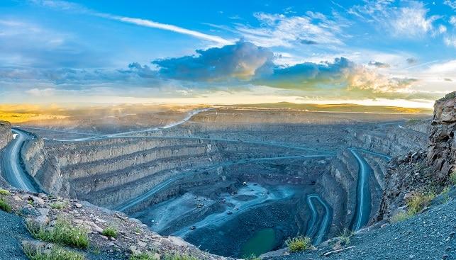 מכרה יהלומים לטסנג לסוטו