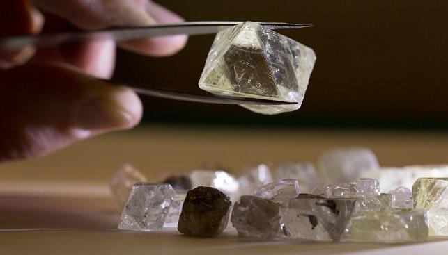 יהלומים גדולים אלרוסה