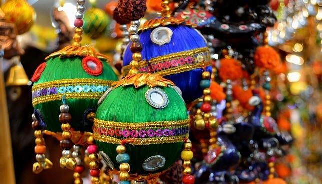 דיוואלי חג הודו קישוטים