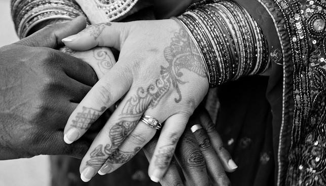 תכשיטי נישואין טבעות הודו