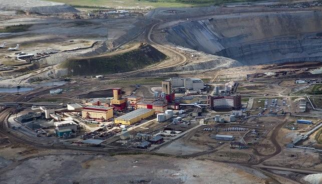 מכרה יהלומים רוסיה סיביר
