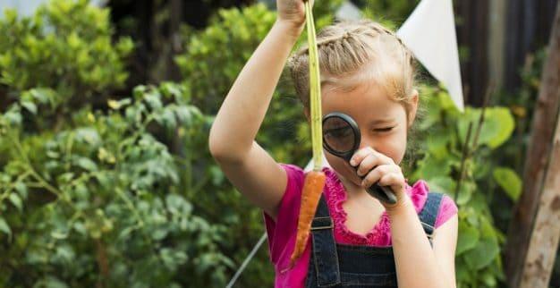 לימודי ביולוגיה ילדה חקלאות