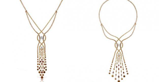 שרשרת יהלומים ורודים מארגייל