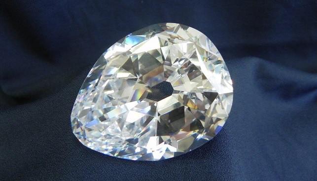 יהלום קולינן גדול לבן