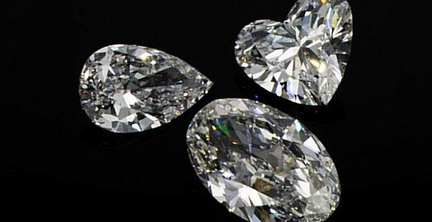 יהלומים מלוטשים לב טיפה