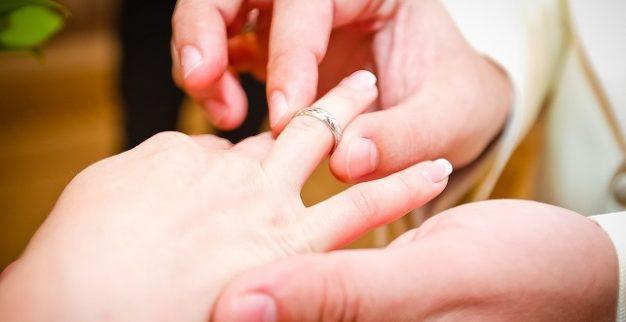 טבעת נישואין חתונה יהלום