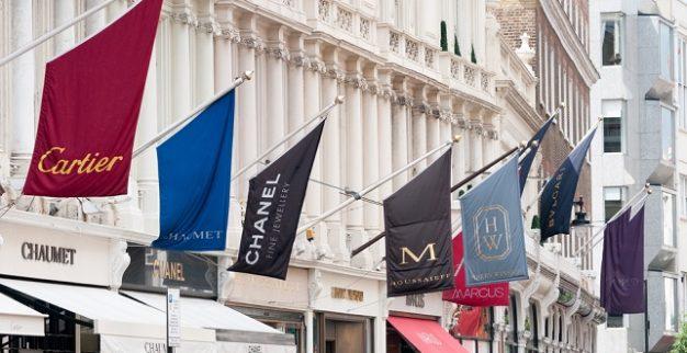 לונדון בונד חנויות אופנה